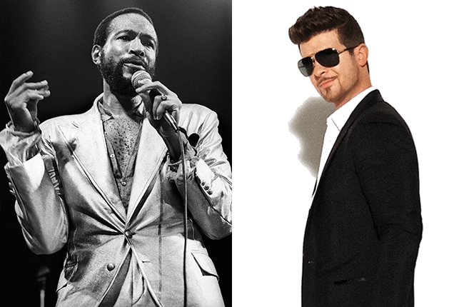 Pharell and Robin Thicke did not plagiarize Marvin Gaye